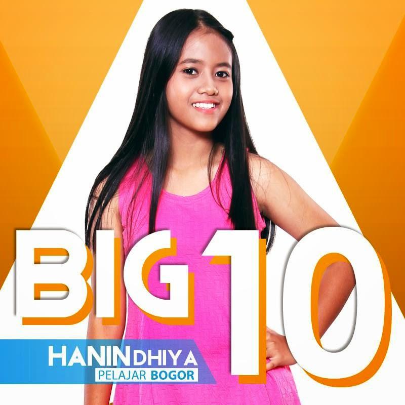 foto hanin dhiya rising star indonesia