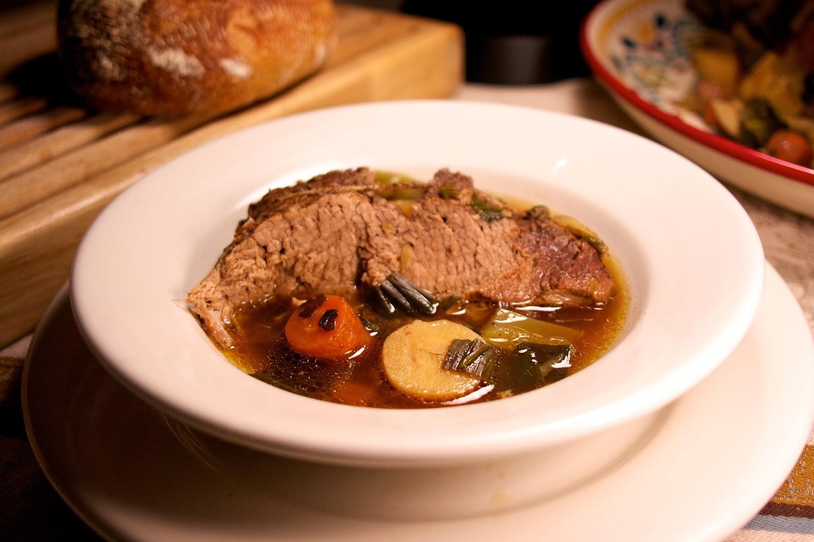 Slow Cooker Pot Roast with Root Vegetables: Inspired by Boeuf a la ...