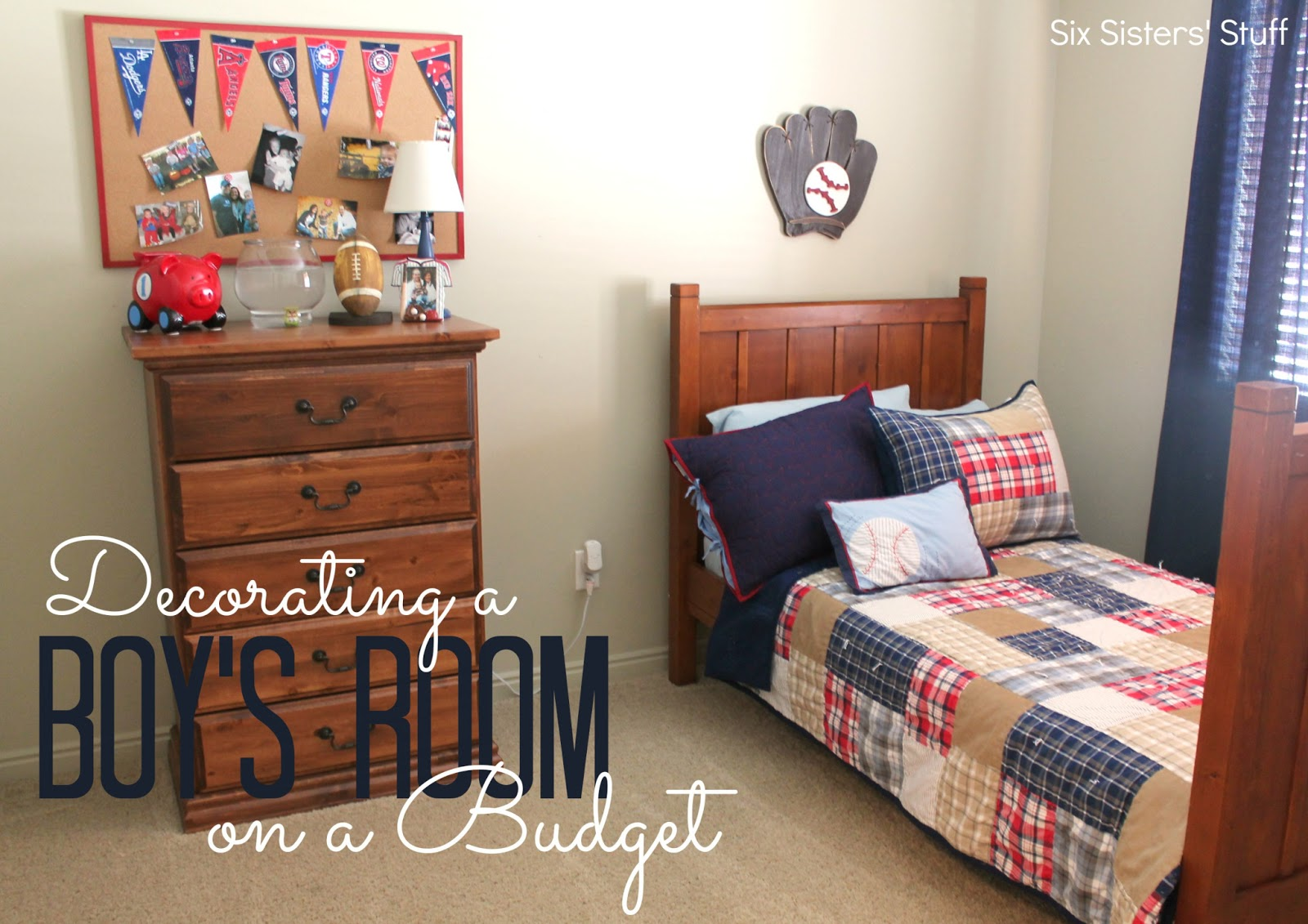 How To Decorate A Boys Bedroom - Home Design - Game-hay.us