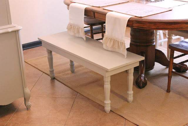 Dining Bench DIY
