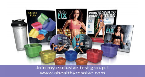 Join my exclusive 21 Day Fix EXTREME test group!!  Get accountability, support and results!