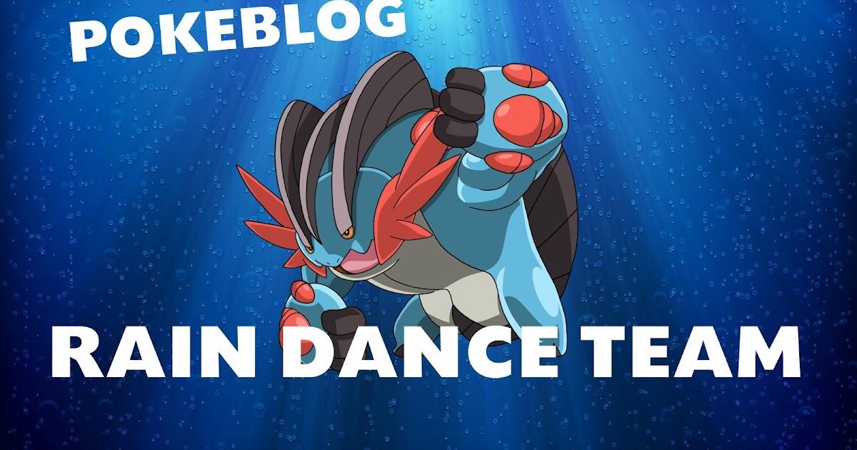 rain dance pokemon team