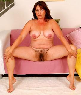 BigBoobs - 024.2 squatting on chair, barefoot