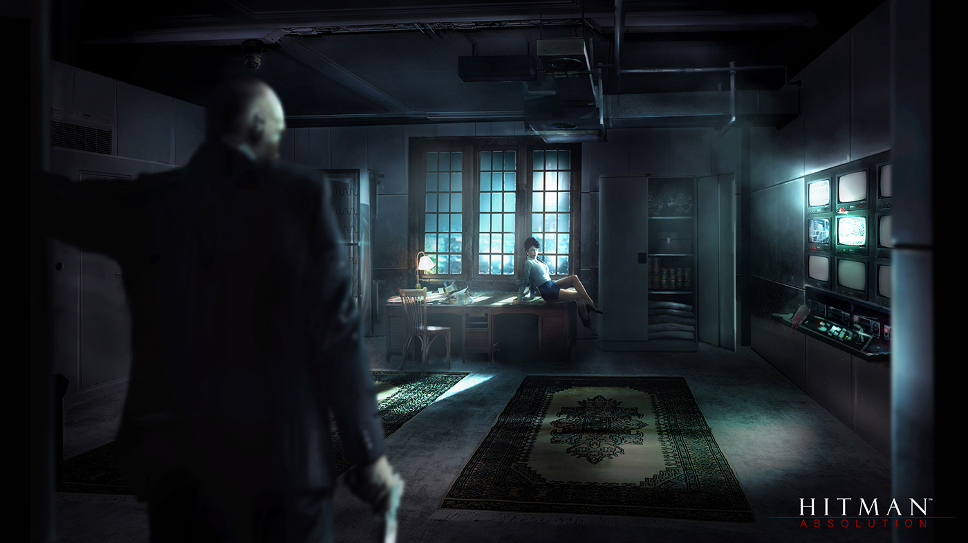 rasmusberggreen: Hitman Absolution Concept Art