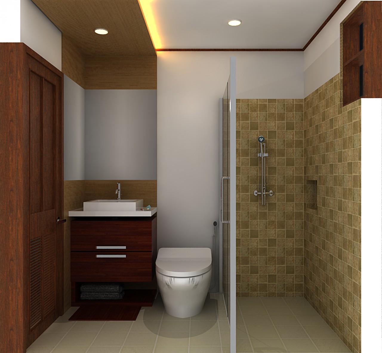 inspirasi buat kalian yang sedang mencari Desain Kamar Mandi Minimalis ...