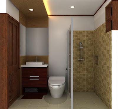 Desain Kamar Mandi Minimalis Terbaru 2015