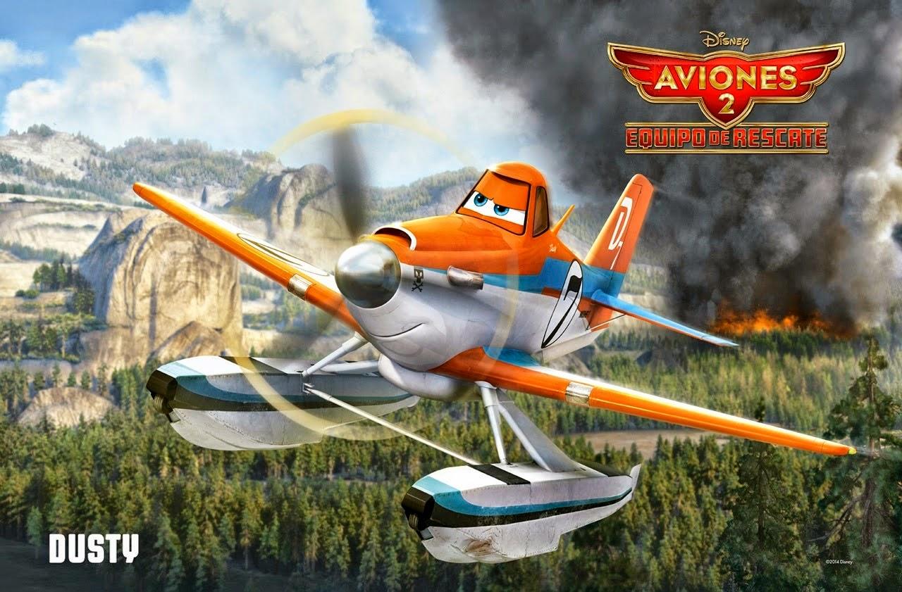 Película Aviones 2