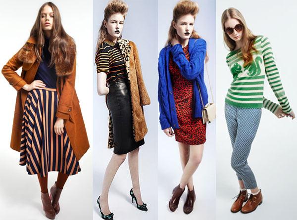 años 20, 40, 60, y 70 vuelven para este otoño cargado de mucho color, materiales nuevos que te permiten leer en un nuevo lenguaje de moda las tendencias