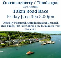 Courtmacsherry 10k race... Fri 30th June 2017