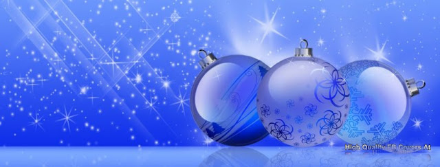christmas blue shine facebook timeline cover photos