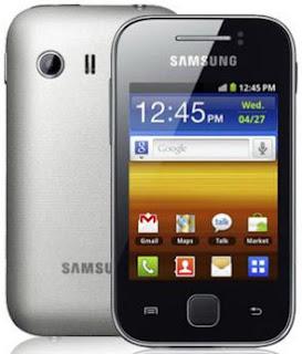 Spesifikasi Handphone Android Samsung Galaxy Y S5360, Harga Dibawah 1jutaan