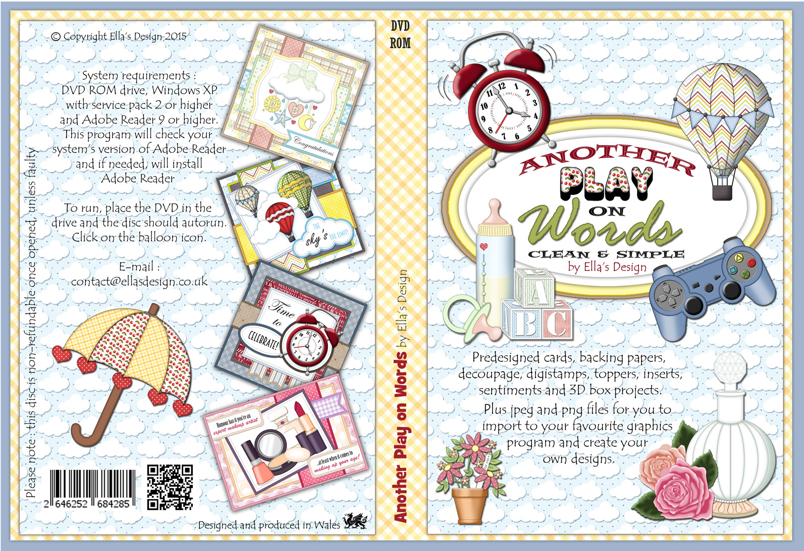 Another Play on Words Papercraft DVD-Rom