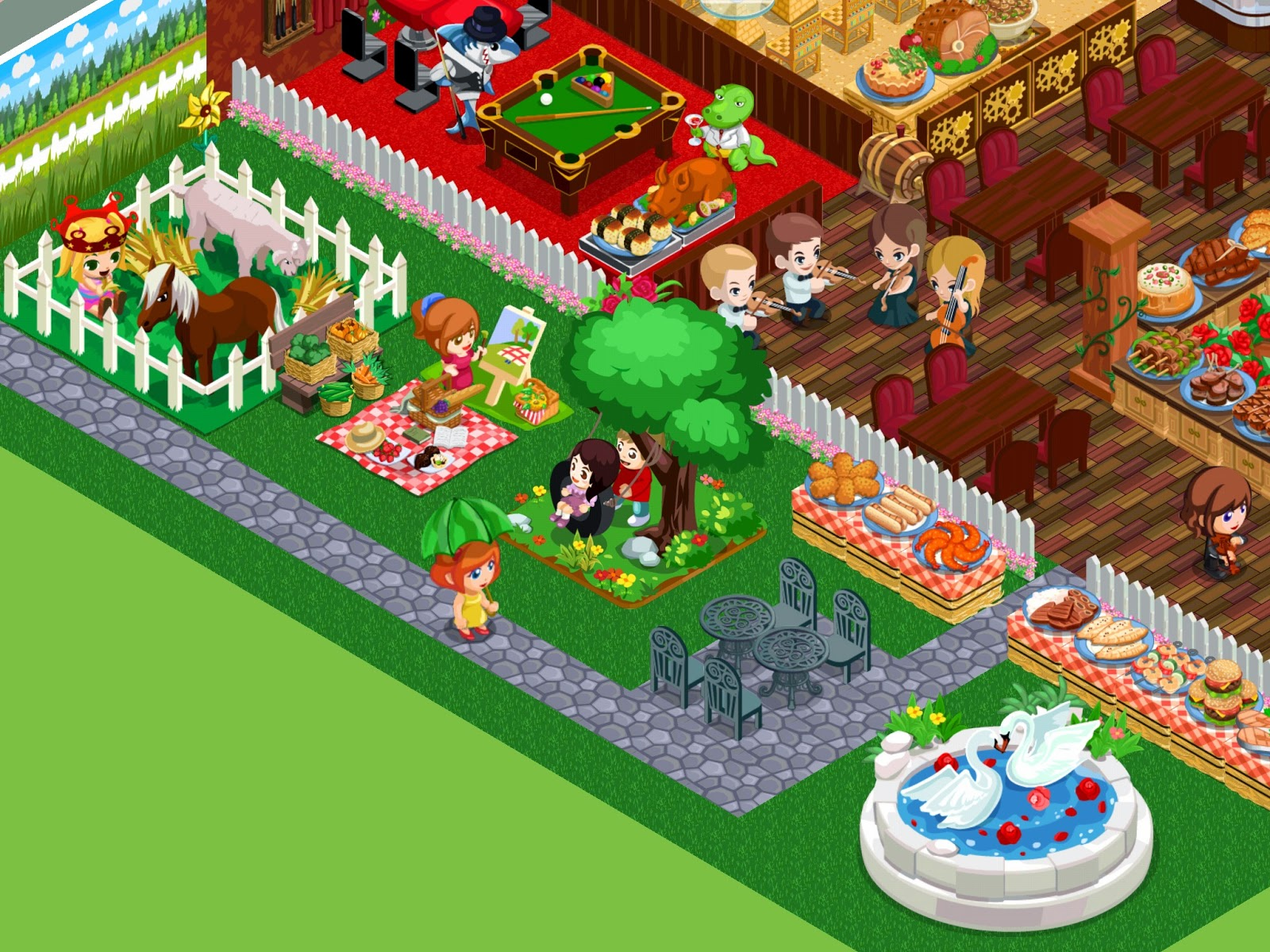 Restaurant Story Adventures: Game update: 20/08/14