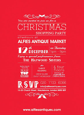 Alfies Christmas Shopping Party