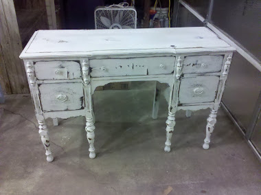 Distressed Desk