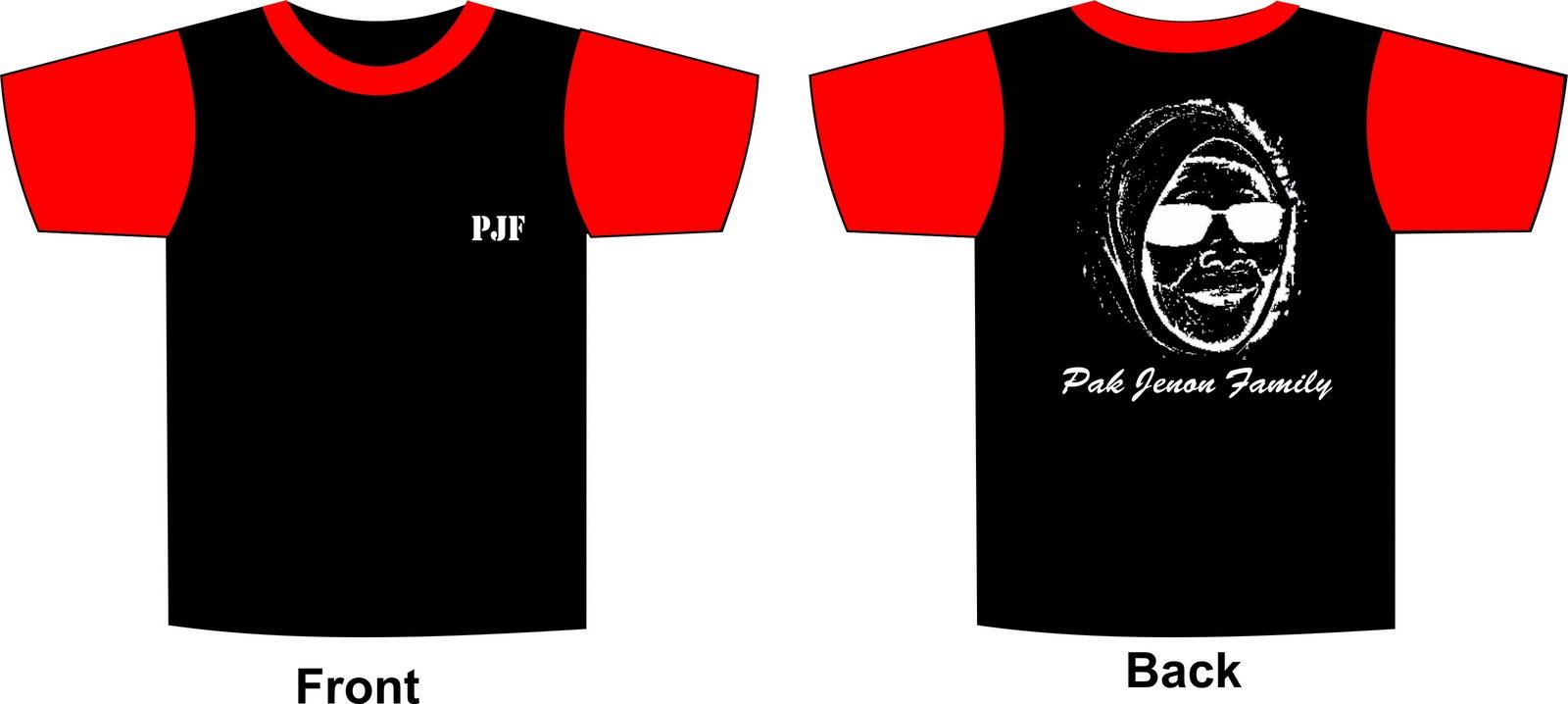 Contoh Design Baju t-shirt | Intelecashop
