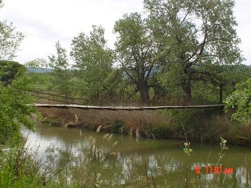 El Puente Colgante en estado puro