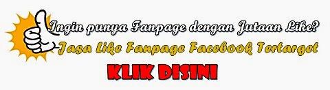 Jasa Like Fanpage Facebook Tertarget