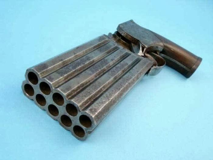 10 Barrel Pistol