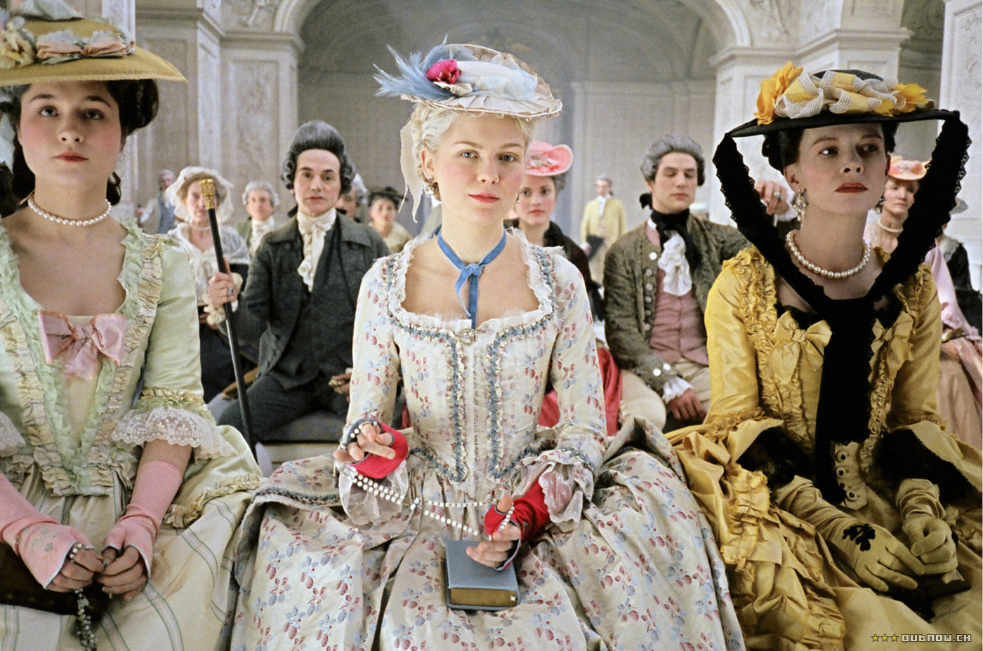 TV and movies: Kirsten Dunst as Marie Antoinette