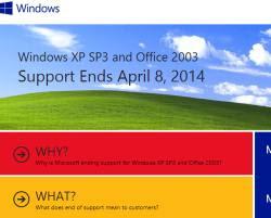 opzioni per sostituire Windows XP