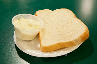Bread Slice and Tartar Sauce