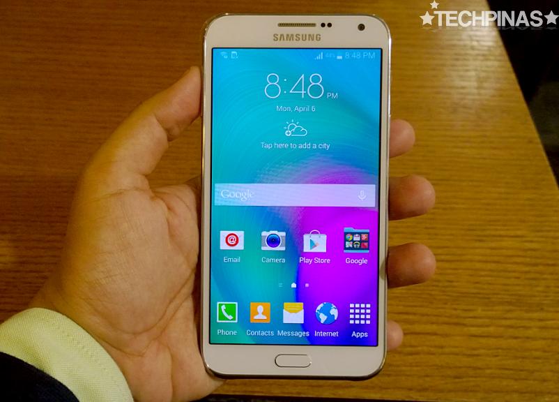 Samsung Galaxy E7, Samsung Galaxy E7 User Interface