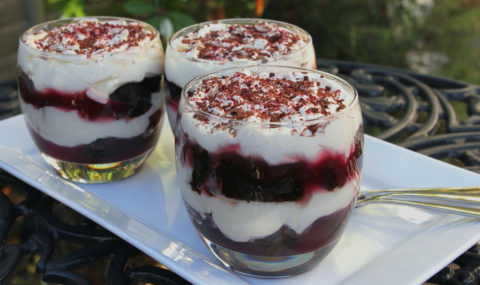 Gluten Free Alchemist: Black Forest Trifle