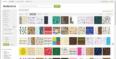 Pattern gallery Shutterstock