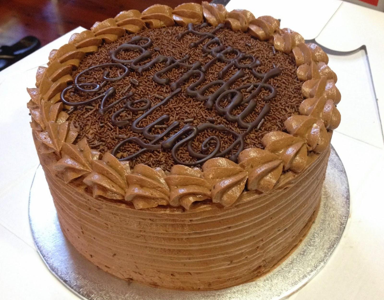 Sugar Love Bake Another Happy Birthday Chocolate Cake