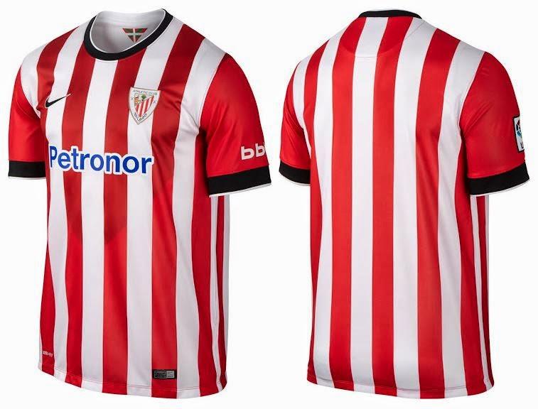 jersey Atletico Bilbao terbaru 2014/2015