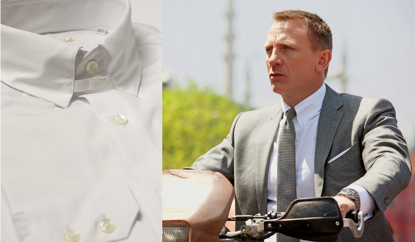 James Bond - tab collar