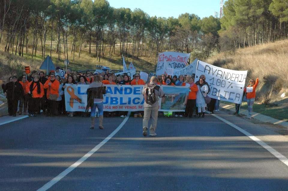 [PCPE-CJC] No A La Privatización De La Lavandería Hospitalaria Central  Lavan