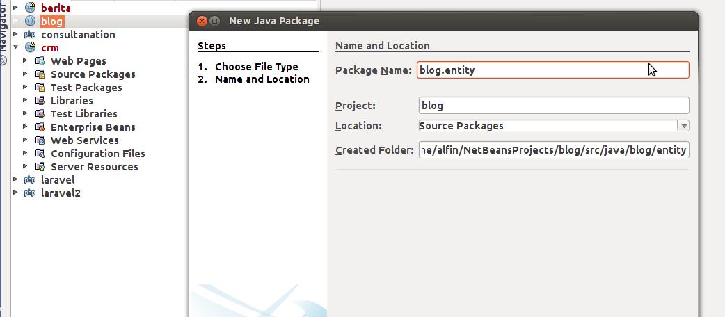 Membuat Web Service (Service Provider) dengan JAX-WS