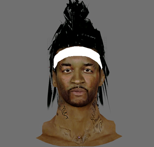 NBA 2K14 Jordan Hill New Hair Mod