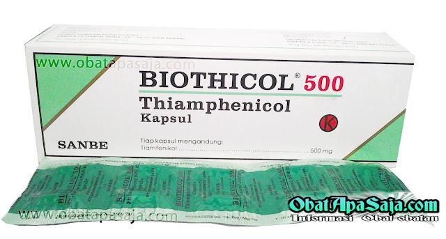 Biothicol (Thiamphenicol) Indikasi Dosis dan Harga