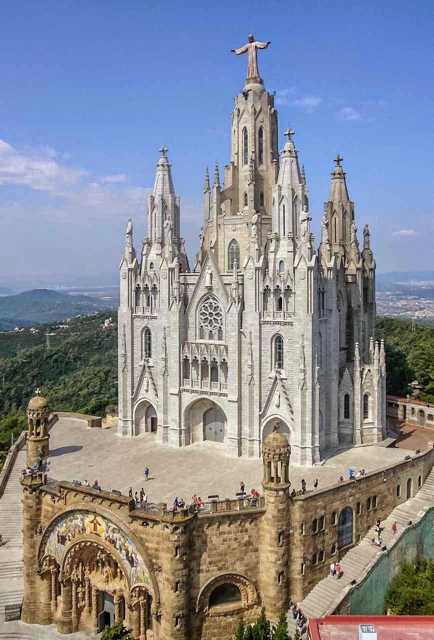 Basílica do Sagrado Coração, Tibidabo, Barcelona