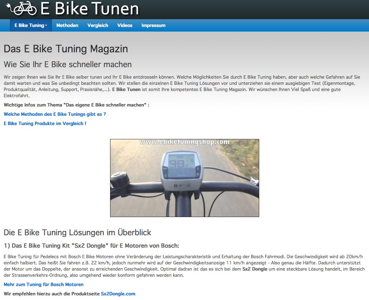 e bike test berblick online shops f r e bike tuning. Black Bedroom Furniture Sets. Home Design Ideas