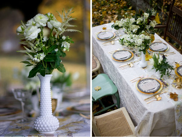 wedding table runner images
