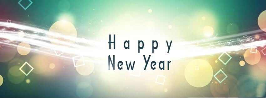 New Year FB Cover Page
