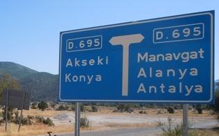 Antalya Denizli Kac Km