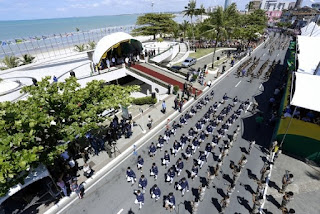 ALAGOAS: Desfile de 7 de setembro emociona público de 50 mil expectadores