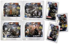 Star Wars Class 1 Fleet Vehicles & Star Wars Die Cast Titanium Series