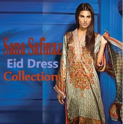 Sana Safinaz Eid Dress Collection for Women