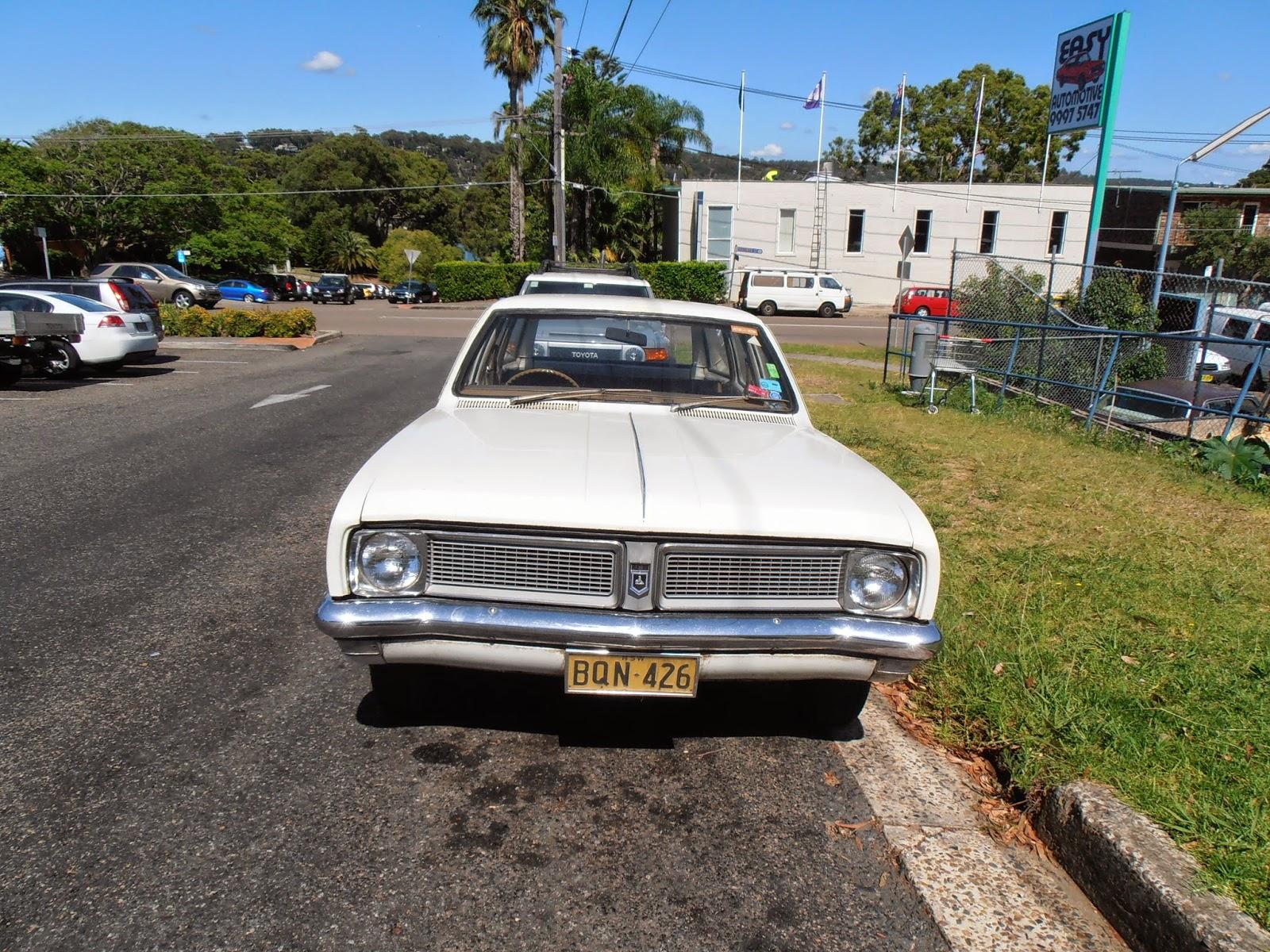 Aussie Old Parked Cars: 1971 Holden HG Belmont Wagon