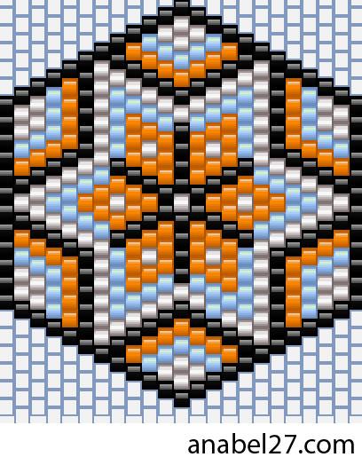 схемы бисероплетение мозаика