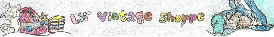 Lil' Vintage Shoppe Blog