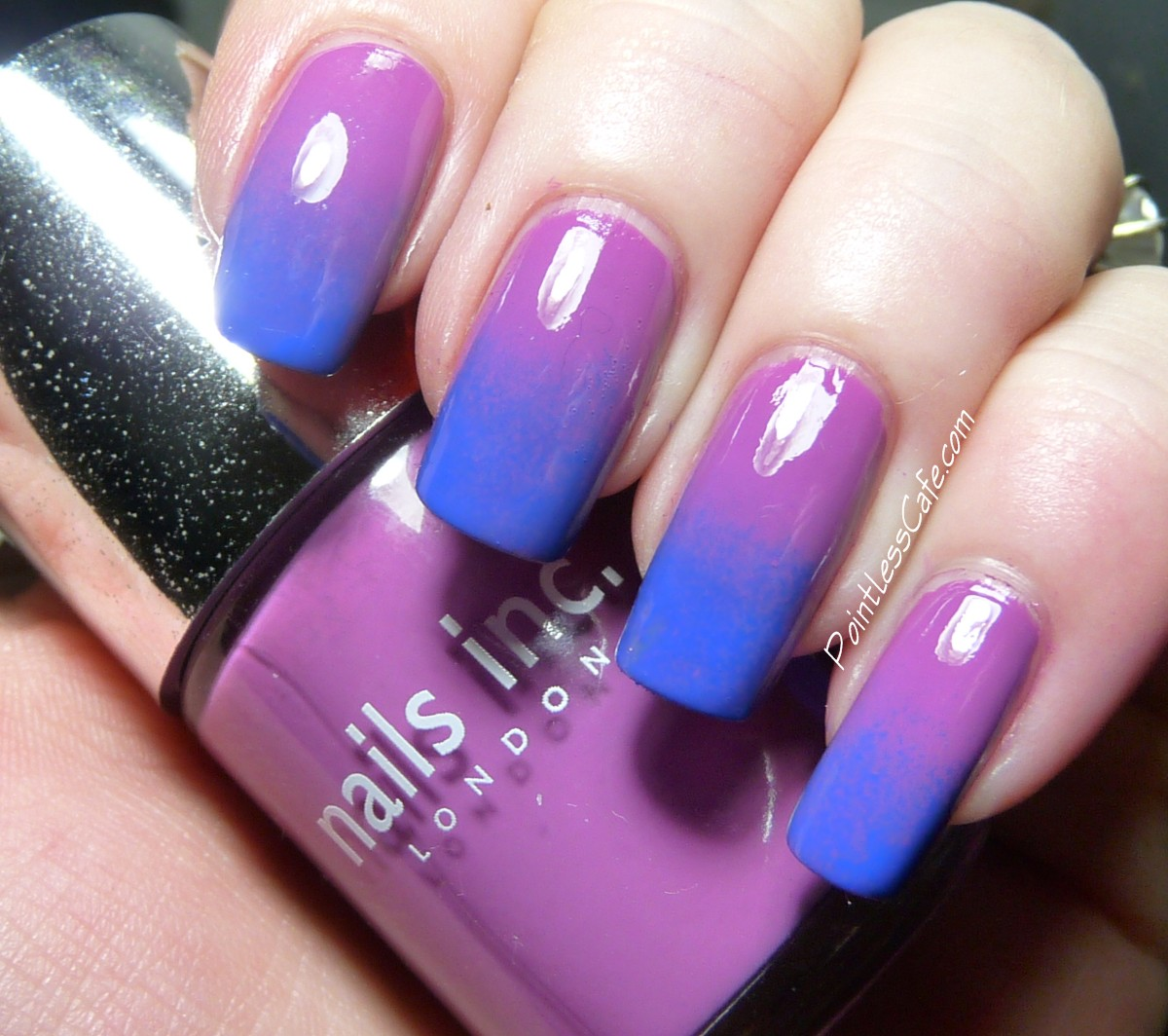Gradient Nail Art: Nail Of The Day: Gradient Dotticure