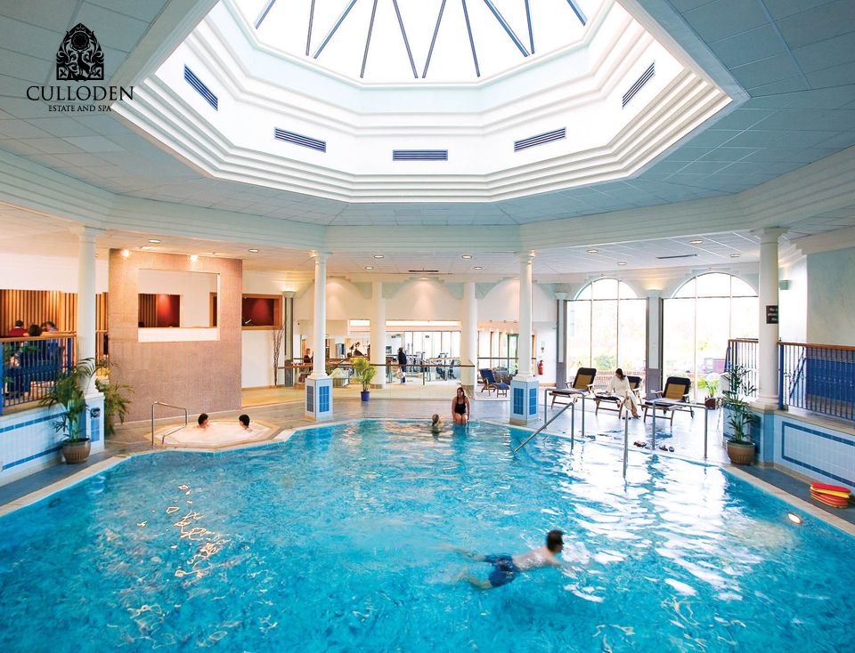 Ireland 39 s best hotels the exceptional culloden estate and spa plus some belfast hotel offers for Hotels in belfast with swimming pool