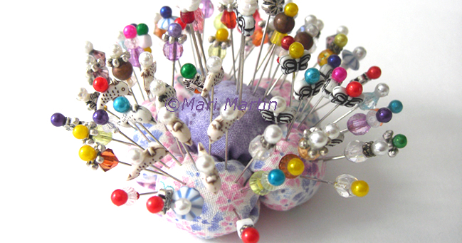 How to make decorative pins crochet colorful for Decorative pins for crafts